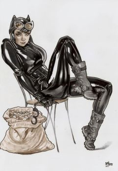Catwoman by jefterleite