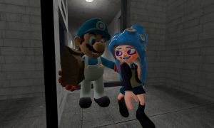Junya's First Day of School (Splatoon GMOD) by Geoffman275