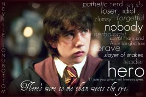 Neville Longbottom- Hero by cleverusername95