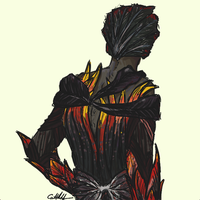 Thorn the Suit of Armor by BlackKnightress210