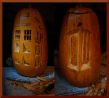 Dr. Who's Pumpkis by jess-the-rockstar