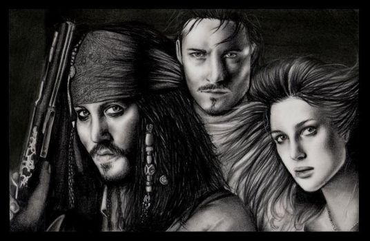 Pirates of the Caribbean by yana182