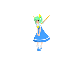 MMD Daiyousei Pose by GalaxyGuild
