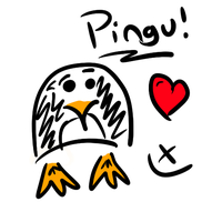 My first drawing.. by PinguAlex