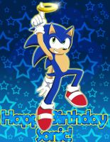Happy Birthday Sonic by WhiteRaven4