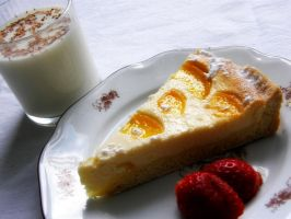 Cheesecake with Tangerines and Milk 2 by Wilhelmine
