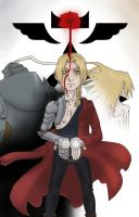 Edward Elric - His Essence by HitanTenshi