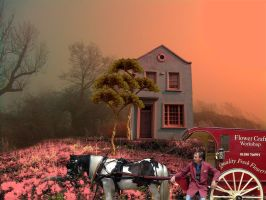 The Flower Vendor's House by 3punkins