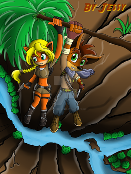 Bandicoot's Adventures by omegacybersilver