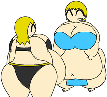 CM: Two Sumo Witches by Ambipucca