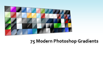 75 Modern Photoshop Gradients by Falco953