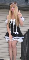 New Maid Outfit for Otafest 2012 by Indy-Sumisu