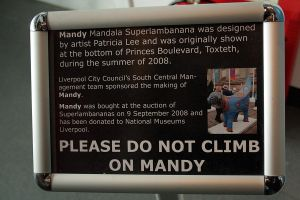 Do Not Climb on Mandy by nftadaedalus