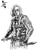 Winter Soldier by AlbertoNavajo