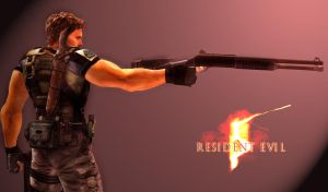 Chris Redfield Fan Wallpaper by toughraid3r37890