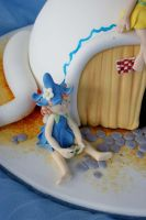 Pixie Teapot House Close-up by Verusca