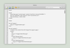 Nibbler Text Editor Concept by spiceofdesign