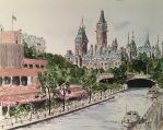Rideau Canal in Ottawa by davesdick