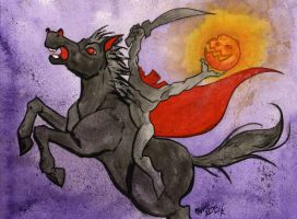 The Headless Horseman by JoJo-Seames