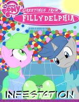 MLP: Greetings from Fillydelphia 'The Infestation' by MLPGFF