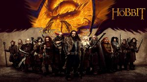 The Hobbit - Gold in flames by Odinsdeath