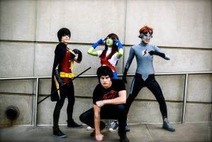 The Young Justice is here! by OurLivingLegacy