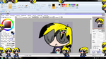 Yes, my first Shimeji? EMO BOOMER. Tiny Emo Boomie by Brashgirl901