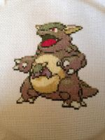 kangaskhan by gothicgirl4444