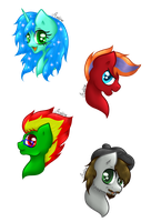 A Bunch of Poni [Gift] by Avelineh