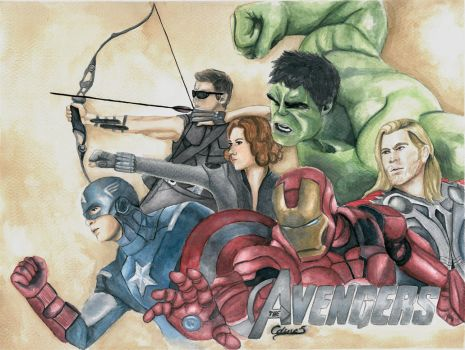 The Avengers by celientje125