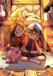The Mystery Twins ~ feat Waddles - Gravity Falls by IFauz