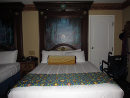 Bed and Frame with Fiberoptics 3 by WDWParksGal-Stock