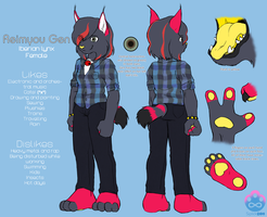 Reimyou Gen ref sheet '11 by Siplick
