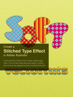 Create a Stitched Type Effect by pica-ae