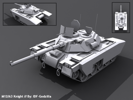 Imaginary Battle Tank by IDF-Godzila