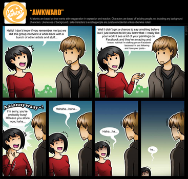 At the Moment - Awkward by SilentReaper