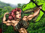 Jane of the Jungle: Treetop Confrontation by IHCOYC