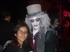 DR. FRIGHT AND ME!!! by spottedparr