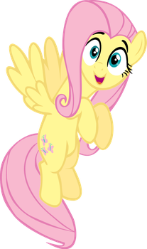 Adorable Fluttershy by Ookami-95