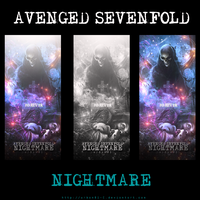 Avenged Sevenfold NIGHTMARE by urban01-C