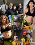 Female Firefighters -- Collage #10 by MosbyRedux