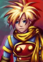 Golden Sun - Isaac by Jasmineteax