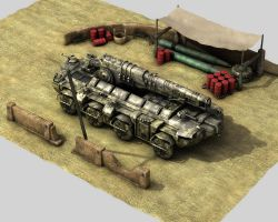 Heavy CFV - Artillery Version by eRe4s3r