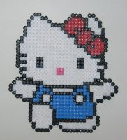Perler Hello Kitty by Kricket1385