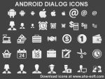 Android Dialog Icons by mikeconnor7