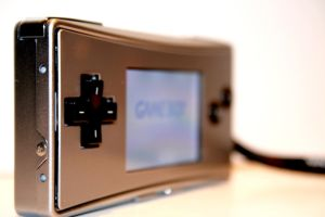 Gameboy Micro by JimmiLeRock