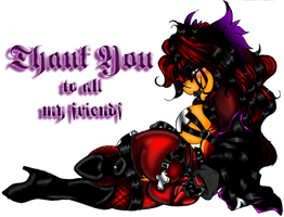 Thank you to all my friends by Crystal-for-ever