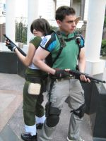Chris and Rebecca Partners by Chris--Redfield