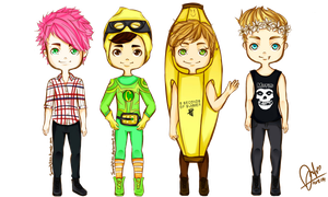 5 seconds of summer by jannahchan