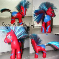 Xerxes, War Pony - custom mlp by The-Lancastrian